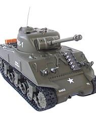 1:30 RC Tank Battle Tanks RTR M4A3 Sherman radio control remoto juguetes