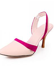 Stylet en cuir talon fermé Toe Parti / chaussures de soirée (plus de couleurs)