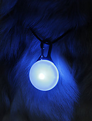 NiteIze Metal Buckle Classical High Brightness LED Light Collar Charm for Dogs (Assorted Color)