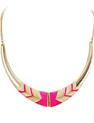 Women's Choker Necklaces Statement Necklaces Alloy Fashion Statement Jewelry Black Pink Jewelry Party Daily 1pc