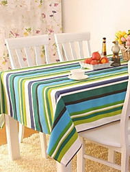 Crossing The Rhine Stripe Cotton Table Cloths