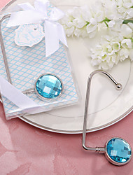 Round Acrylic Diamond Purse Valet Favor