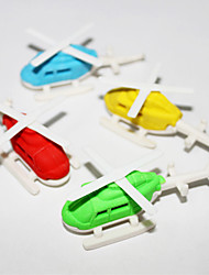 Abnehmbare Helicopter-Shaped Eraser (Random Color)