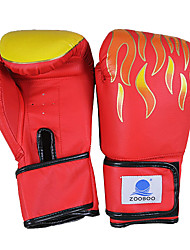 Boxing Gloves Full-finger Gloves Men's Anti-skidding / Wearable / Shockproof Boxing Red / Black / Blue