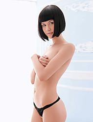 Ultra Mesh Thong sexy brodé