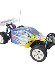 Rádio 01:10 carros de controle remoto 4WD carro rc caminhão elétrico Buggy Racing Toys RTR