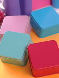 simple, l'étain cuboïde faveur métal - ensemble de 6 (plus de couleurs)