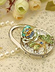 Nice Flower Bolso Favor Valet con diamantes de imitación