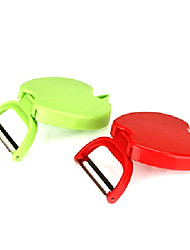 Apple Shaped Fold Fruit Peeler(Random Color)