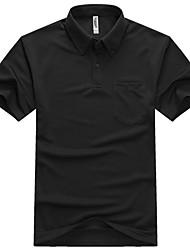 Lesmart Schwarz Polo-T-Shirt