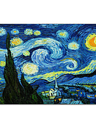 Starry Night c1889 door Vincent van Gogh Famous Kunstdruk