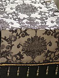 Style de motif floral Runner européen de table avec glands