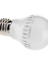 E26/E27 3.5 W 60 SMD 3528 150 LM Warm White A Globe Bulbs AC 110-130/AC 220-240 V