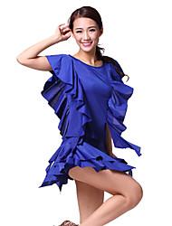 Dancewear Viscose barriga roupa de dança para senhoras mais cores