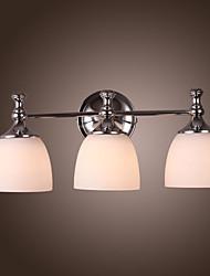 3 - la luce applique da parete in ombra bianca - verso il basso