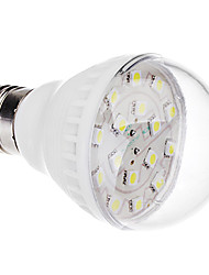 E27 2.5W 16x5050SMD 200-240LM 6000-6500K Cool White Light LED Bulb (220V)