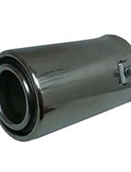 Universal Stainless Steel Muffler for Vehicles Exhaust Pipe (63mm-Inner Diameter) LMC-M-005