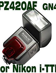 Emoblitz DPZ420AFN Digital Dedicated PowerZoom Flashgun for Nikon i-TTL D300 D700