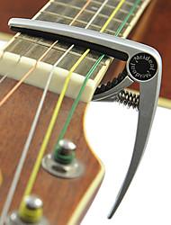 MEIDEAL - Aircraft Grade Aluminum Alloy Silver Plated Guitar Capo