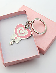 Personalized Engraved Gift Lollipop Shape Keychains(Set of 6)