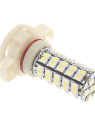 H16 4W 68x3528SMD Natural White Light Bulb para Fog / cabeça da lâmpada do carro (12V) LED