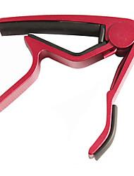 Alluminium Alloy Acoustic Guitar Capo(Red)
