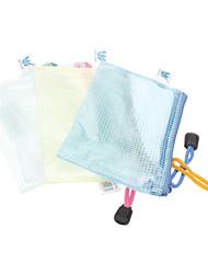Maillage avec levage dossiers de certificat de corde (couleur aléatoire)