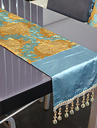 As per picture Polyester Rectangular Table Runners