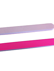 2PCS 2in1 Nail File&Shining File Nail Art Tool