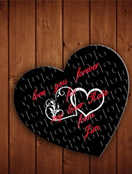 Personalized Heart Shaped Jigsaw Puzzle - Double Heart