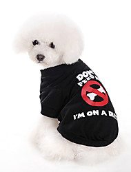 Don't Feed Me Style T-Shirt for Dogs (XS-XL)