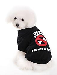 Ne pas Alimentez-moi T-shirt de style pour les chiens (XS-XL)