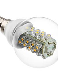 E14 Lampadine globo LED G60 32 SMD 5050 175 lm Bianco caldo AC 220-240 V