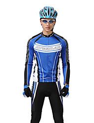 MYSENLAN PN сетка + Flex Материал длинным рукавом дышащий Велоспорт Мужские костюмы