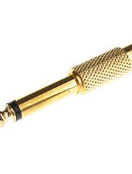 6.5mm al adaptador del RCA M / F