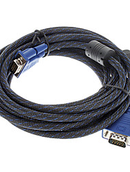 VGA To VGA M/M Computer Monitor Cable (5m)