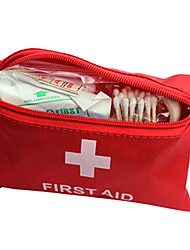First Aid Kit Hiking Waterproof / Compact Size Red