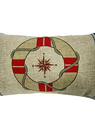 Modern Direction Cotton/Linen Decorative Pillow Cover