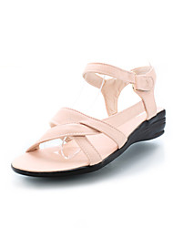 Fashion Leatherette Low Heel Sandals With Buckle Party / Evening Shoes (More Colors)
