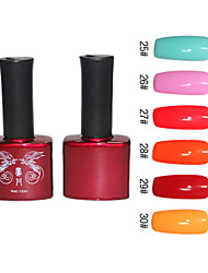 Natürliche Pure Color Nail UV Color Gel No.25-30 (12ml, 1 Stück)