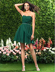 Cocktail Party/Prom/Homecoming/Holiday Dress - Dark Green Plus Sizes/Hourglass/Pear/Misses/Petite/Apple/Inverted Triangle/Rectangle