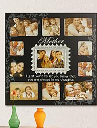 Ensemble de 11 Mother Love cadre photo en bois