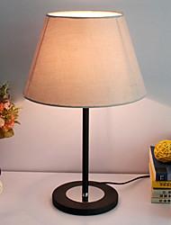moderne Tischleuchte mit elegantem Stoffschirm Bild fertig Körper minimalistischen 220-240V