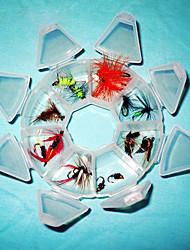 Homa Lure Packs Flies Fishing Hook(2pcs*8)