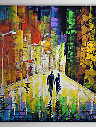 Hand Painted Oil Painting People Love Lovers back with Stretched Frame 1307-PE0261