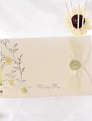 Spring Flower Folded Wedding Invitation (Set of 50)