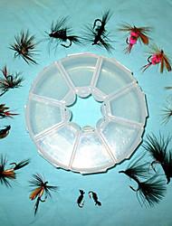 Homa Flies Wet-type Hook Lure Packs(2pcs*8)