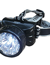 Lampada frontale con 7 led per le attività all'aperto