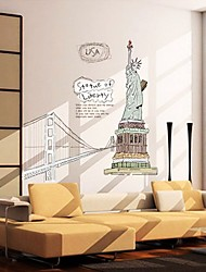 Statue of the Liberty Wall Sticker