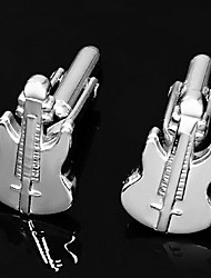 Gift Groomsman Guitar Shaped Cufflinks